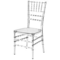 Mirage Clear Chiavari Polycarbonate Chair