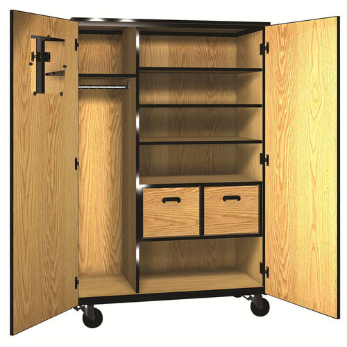 Our Denali 1000 Series Mobile Teacher Storage with Doors, 3 Adjustable Shelves, and 2 File Drawers is on sale now.