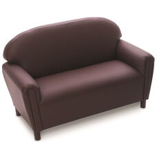 Just Like Home Enviro-Child School Age Sofa - Chocolate - 45