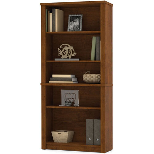 Our Embassy Modular 5 Shelf Bookcase with Adjustable Shelving - Tuscany Brown is on sale now.