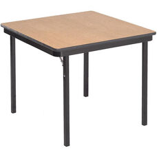 Square Laminate Top and Plywood Core Folding Seminar Table - 36