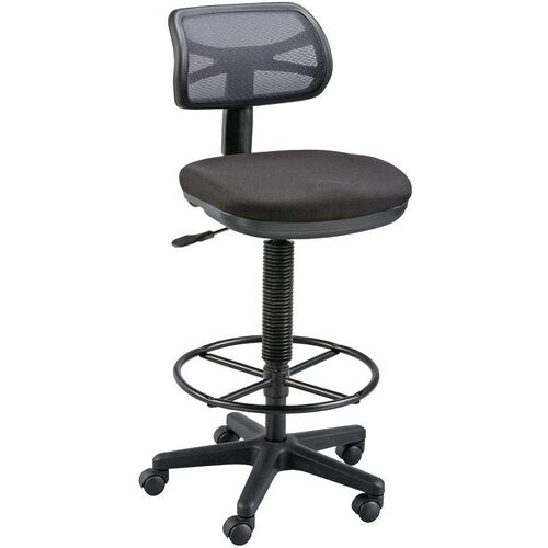 Our Griffin Height Adjustable Drafting Chair - Black is on sale now.