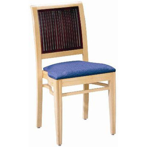 Our 597 Stacking Chair w/ Upholstered Seat - Grade 1 is on sale now.