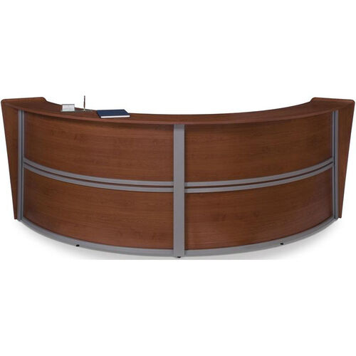 Our Marque Double-Unit Reception Station - Cherry is on sale now.