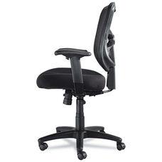 Alera® Elusion Series Mesh Mid-Back Swivel/Tilt Chair - Black