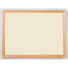 213 Series Tackboard with Angle Wood Face Frame - Fabricork - 96