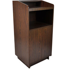 Advantage Walnut Wood Speaker's Podium