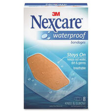 3M Nexcare Waterproof Knee and Elbow Bandages