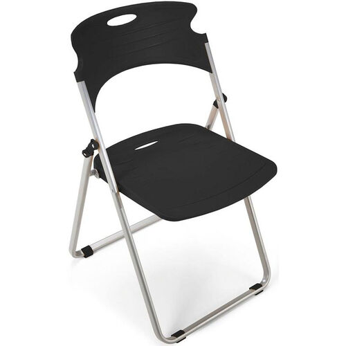 Our Flexure Folding Chair with Polypropylene Seat and Back - Black is on sale now.