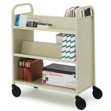 Voyager Double Sided Book & Utility Truck - 36''W x 18''D x 44''H