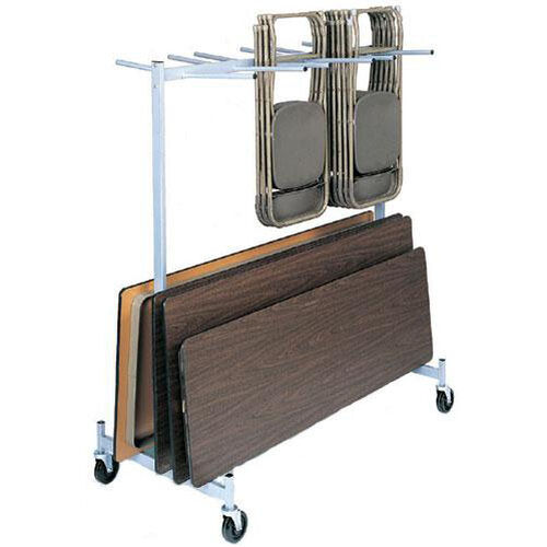 Full Size Hanging Folded Chair and Table Storage Truck - 74