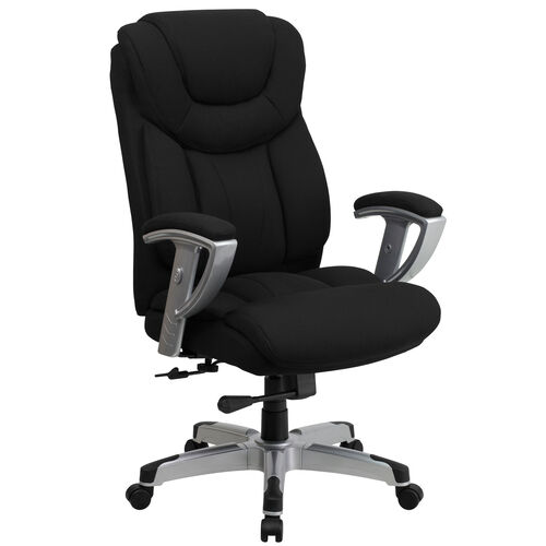 HERCULES Series Big & Tall 400 lb. Rated Executive Swivel Chair with Adjustable Arms