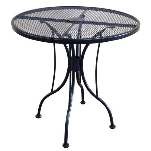Our Outdoor Wrought Iron Table with 30