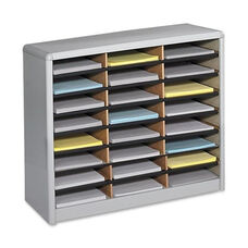 Safco Literature Sorter -24 Compartments -32 1/4