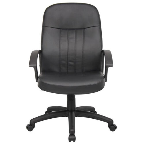 Our Budget Executive LeatherPlus Chair with Arms - Black is on sale now.