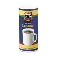 Genuine Joe Creamer - Non -Dairy - Reclosable Lid - 12 oz. - 3 per pack