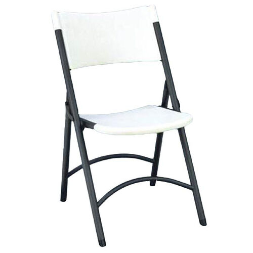 Our Armless Plastic Folding Chair with Charcoal Steel Frame - Gray Granite Seat and Back is on sale now.