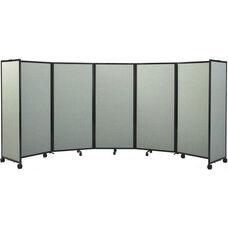 Room Divider 360® 7'6''H x 19'6''L Folding Room Divider - Fabric