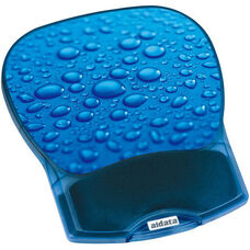 Deluxe Soft Cushion Gel Mouse Pad - Water Drop