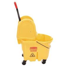 Rubbermaid® Commercial Wavebrake 35 Quart Bucket/Wringer Combinations - 16 to 24oz Mop Head Capacity