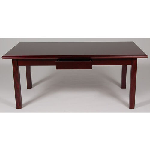 Our 36 x 72 Wood Veneer Writing Desk in Mahogany Finish is on sale now.