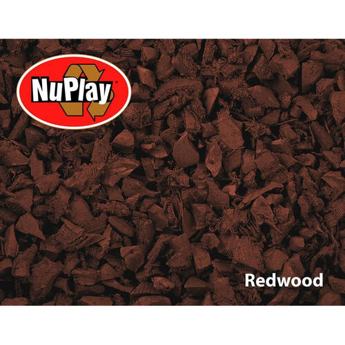 Our NuPlay Recycled Rubber Loose Fill Mulch - Redwood - 1.5 Cubic Feet is on sale now.