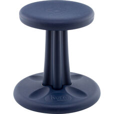 "Kids Antimicrobial Kore™ Wobble 14"" Seat Height Chair - Dark Blue"