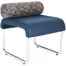 Uno Pillow Back Seat - Blue Jay Back with Navy seat