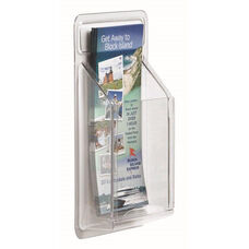 Clear-Vu Pamphlet Display - 1 Pocket