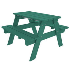 POLYWOOD® Kids Collection Picnic Table - Vibrant Aruba