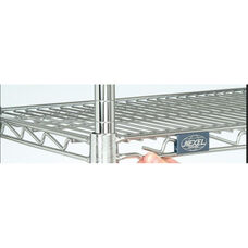 Chrome Standard Wire Shelf - 18