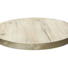 Marco 46'' Round Melamine Table Top - Old Pine