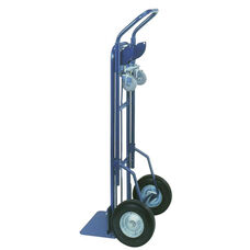 Two-In-One Deluxe Industrial Steel Hand Truck With 3.5