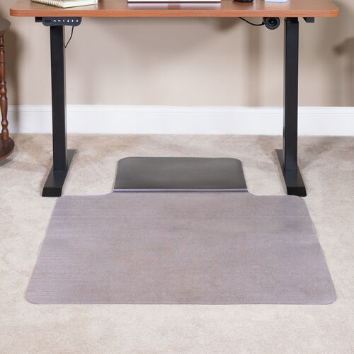 "Our Sit or Stand Mat Anti-Fatigue Support Combined with Floor Protection (36"" x 53"") is on sale now."