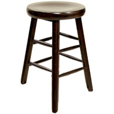 Classic Indoor Collection Beechwood Backless Counter Height Barstool
