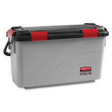 Rubbermaid Commercial Products Microfiber Pulse Mop Charging Bucket - 12