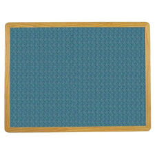 2700 Series Tackboard with Flat Wood Face Frame - Designer Fabric - 36