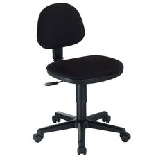 Comfort Economy Office Height Task Chair - Black