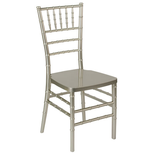 """Our HERCULES PREMIUM Series Champagne Resin Stacking Chiavari Chair with <span style=""""color:#0000CD;"""">Free </span> Cushion is on sale now."""