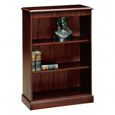 The HON Company 94000 Series Traditional 3 Shelf Bookcase