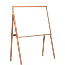 Remarkaboard® Solid Oak Wood Frame Easel - 64