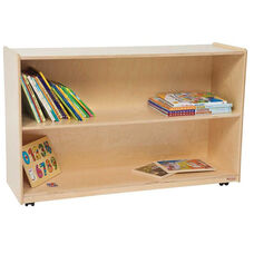 Tip-Me-Not Healthy Kids Plywood Shelf Storage Unit - Assembled - 48
