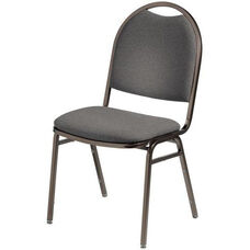 Convention Stacker Half Moon Back Chair