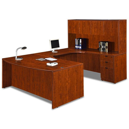 Our Cherry Bow Front Desk Executive U Suite is on sale now.