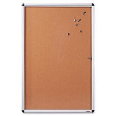 Lorell Enclosed Bulletin Board - Cork - 24