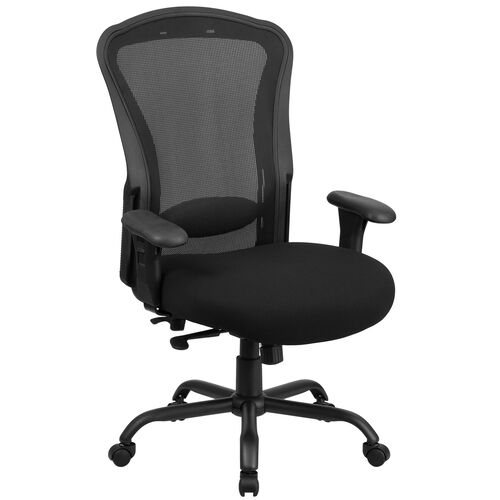 Our HERCULES Series 24/7 Intensive Use Big & Tall 400 lb. Rated Black Mesh Multifunction Synchro-Tilt Ergonomic Office Chair is on sale now.