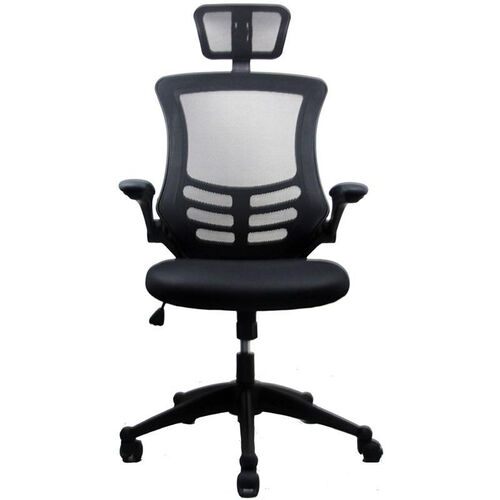 Our Techni Mobili Executive High Back Chair with Headrest - Black is on sale now.