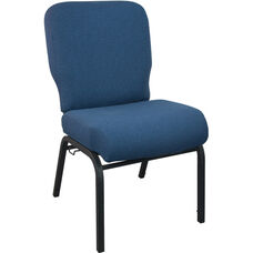 Advantage Signature Elite Navy  Church Chair - 20 in. Wide