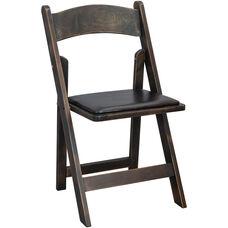 Advantage Wood Folding Wedding Chair