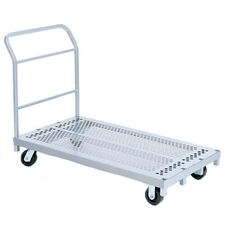 Heavy Duty Steel Frame Platform Truck with 5